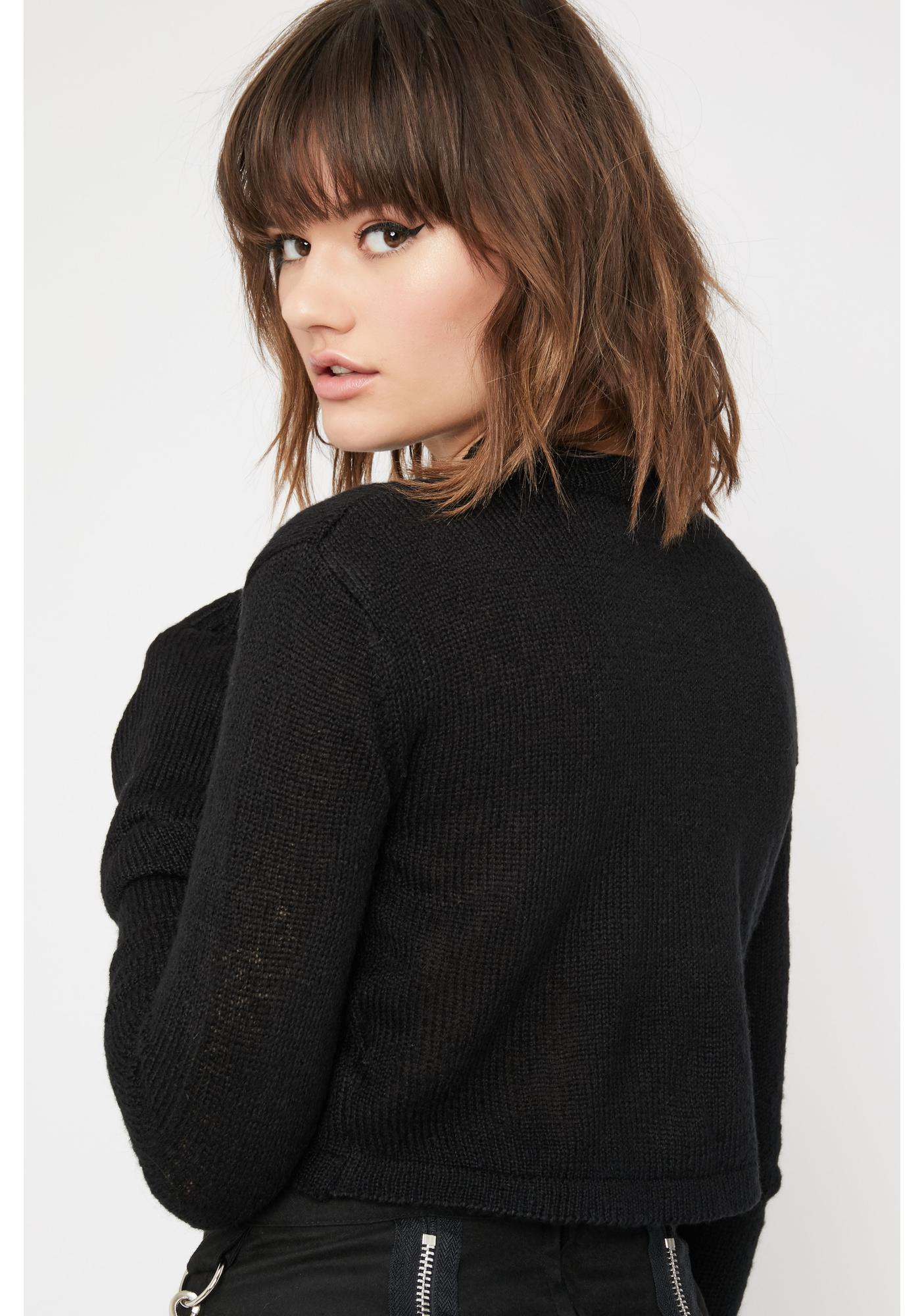 Current Mood Badlands Crop Sweater