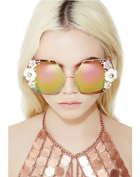 Disco Daisy Super Oversized Frames