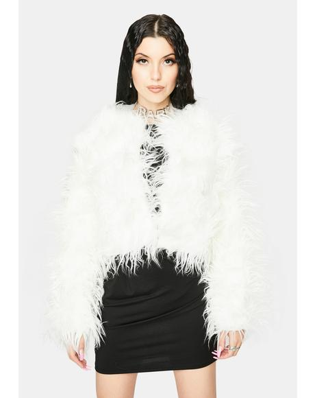 Angel Somethin' Savage Faux Fur Coat
