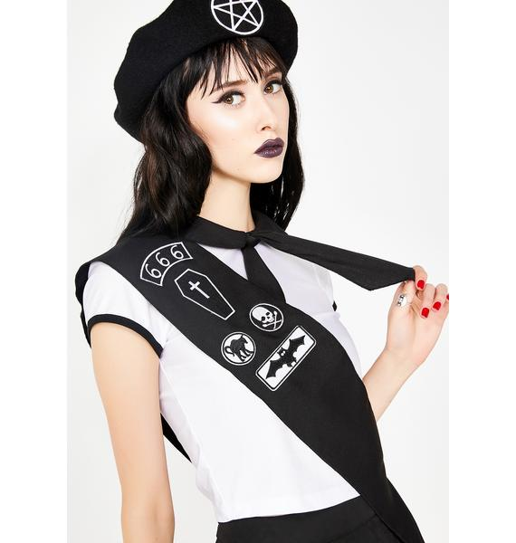 Dolls Kill Witch In Training Scout Costume