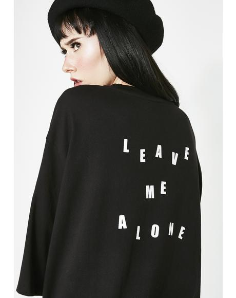 Leave Me Alone Sleep Tee