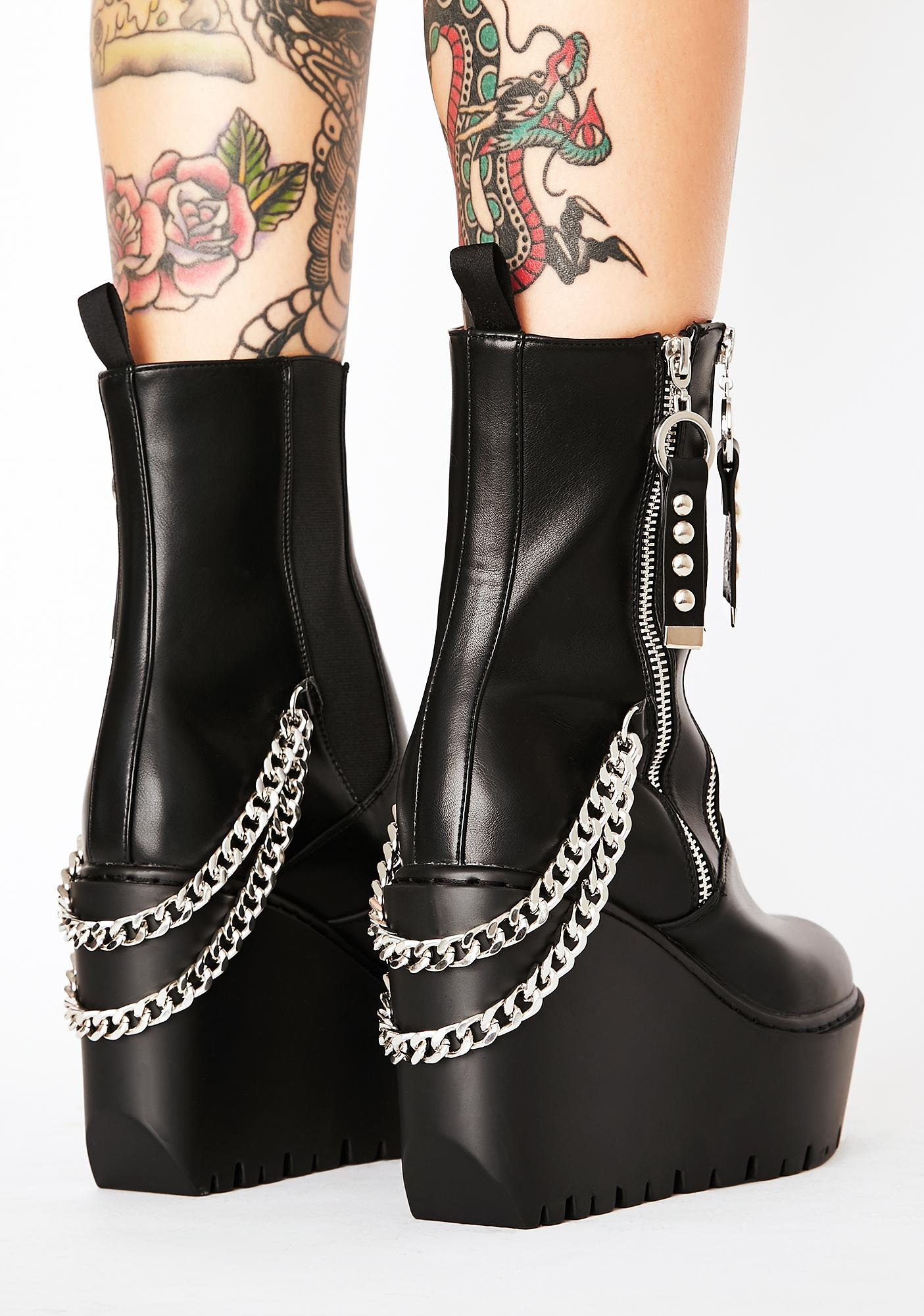 Lamoda Easily Replaced Wedge Boots