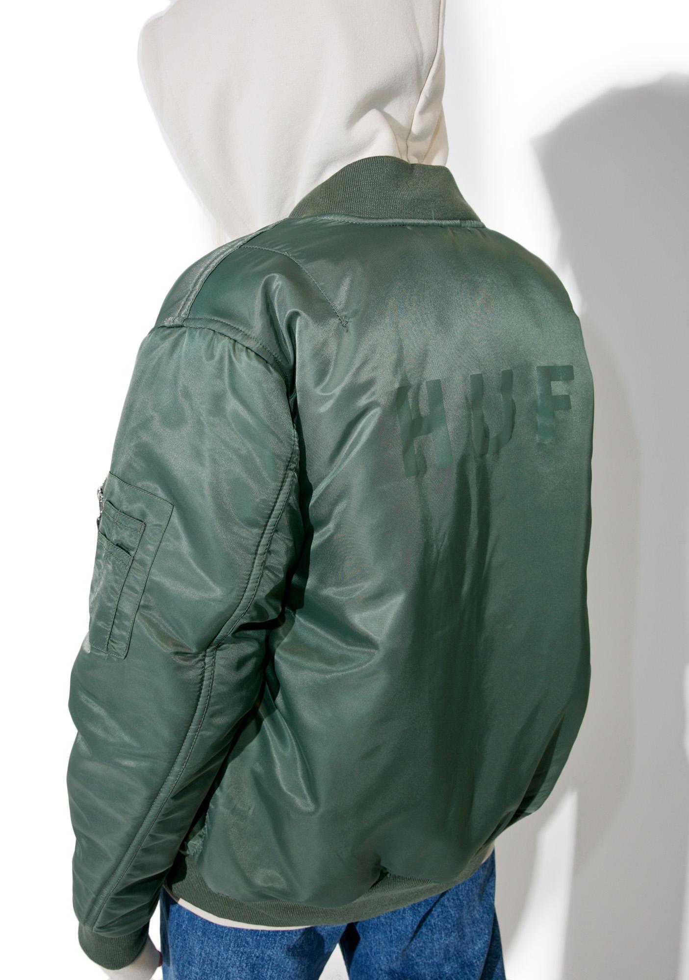 HUF Elite Reversible MA-1 Jacket
