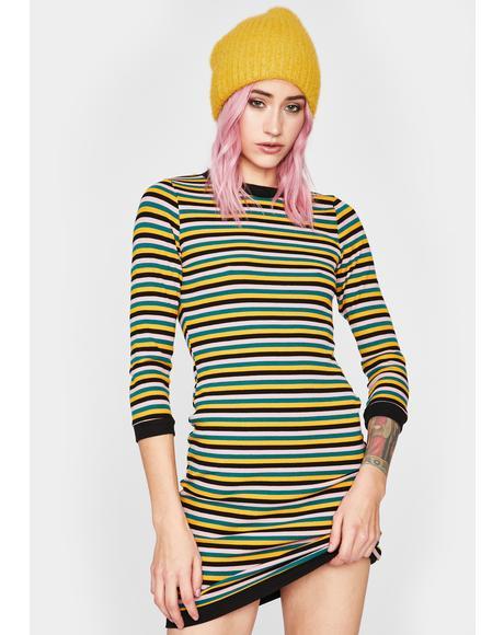 Best Time To Wear A Striped Mini Dress