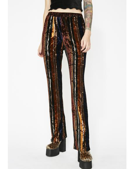 Art Chic Velvet Pants