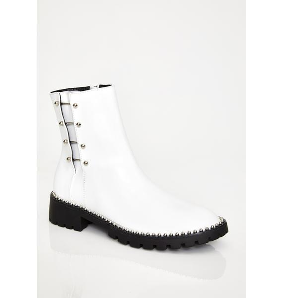 Fierce Pierce Barbell Boots