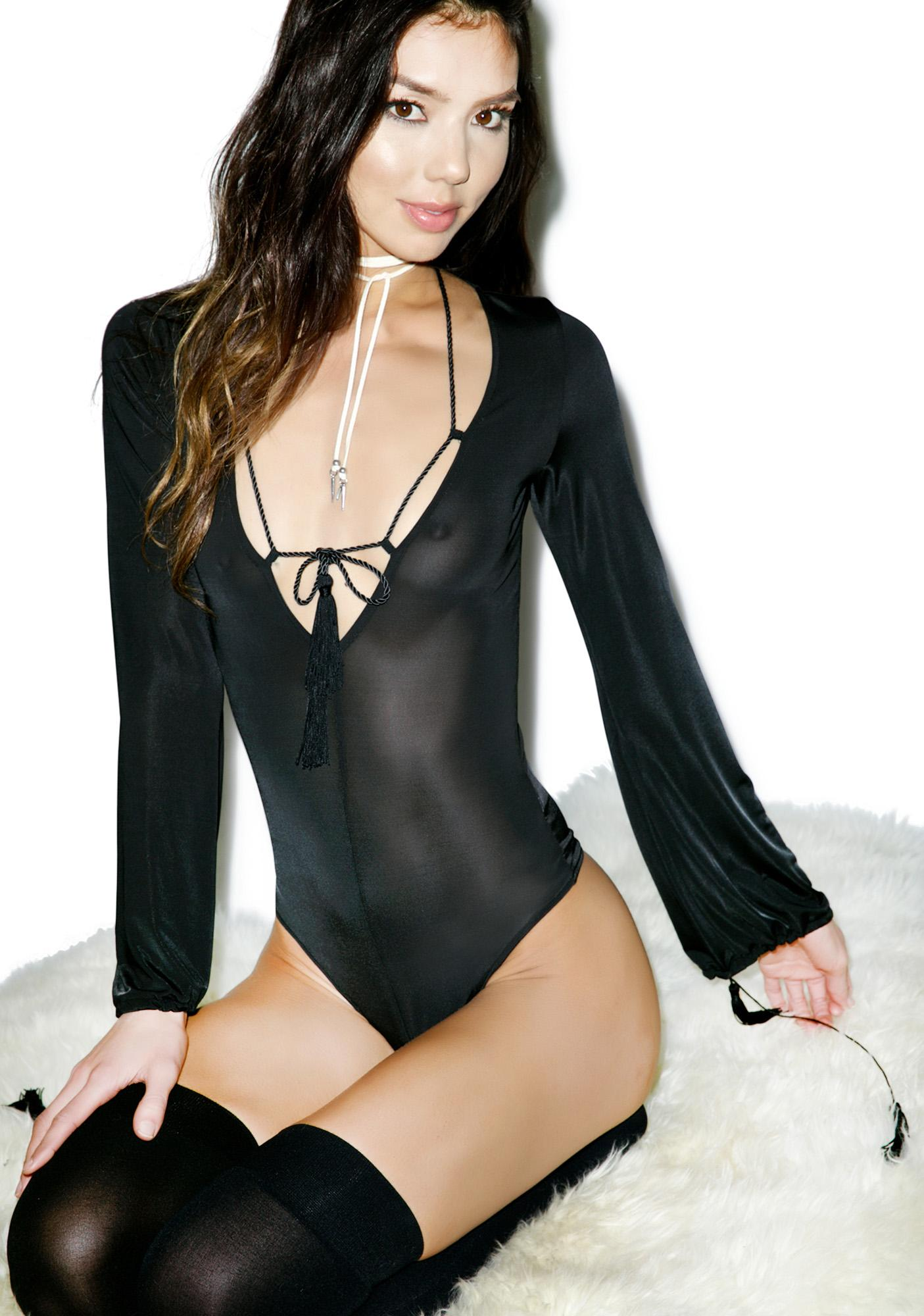For Love & Lemons Kate Bodysuit