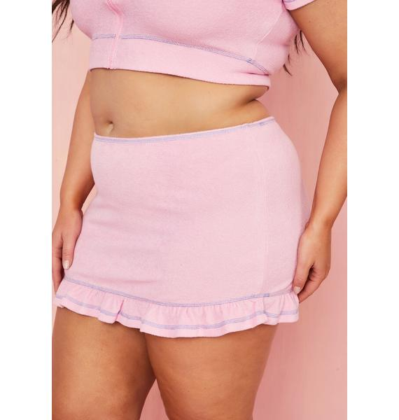 Sugar Thrillz Miss Malibu Baby Mini Skirt
