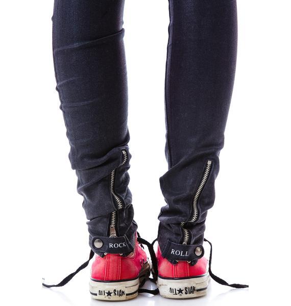 Zoe Karssen Low Rise Skinny Jean