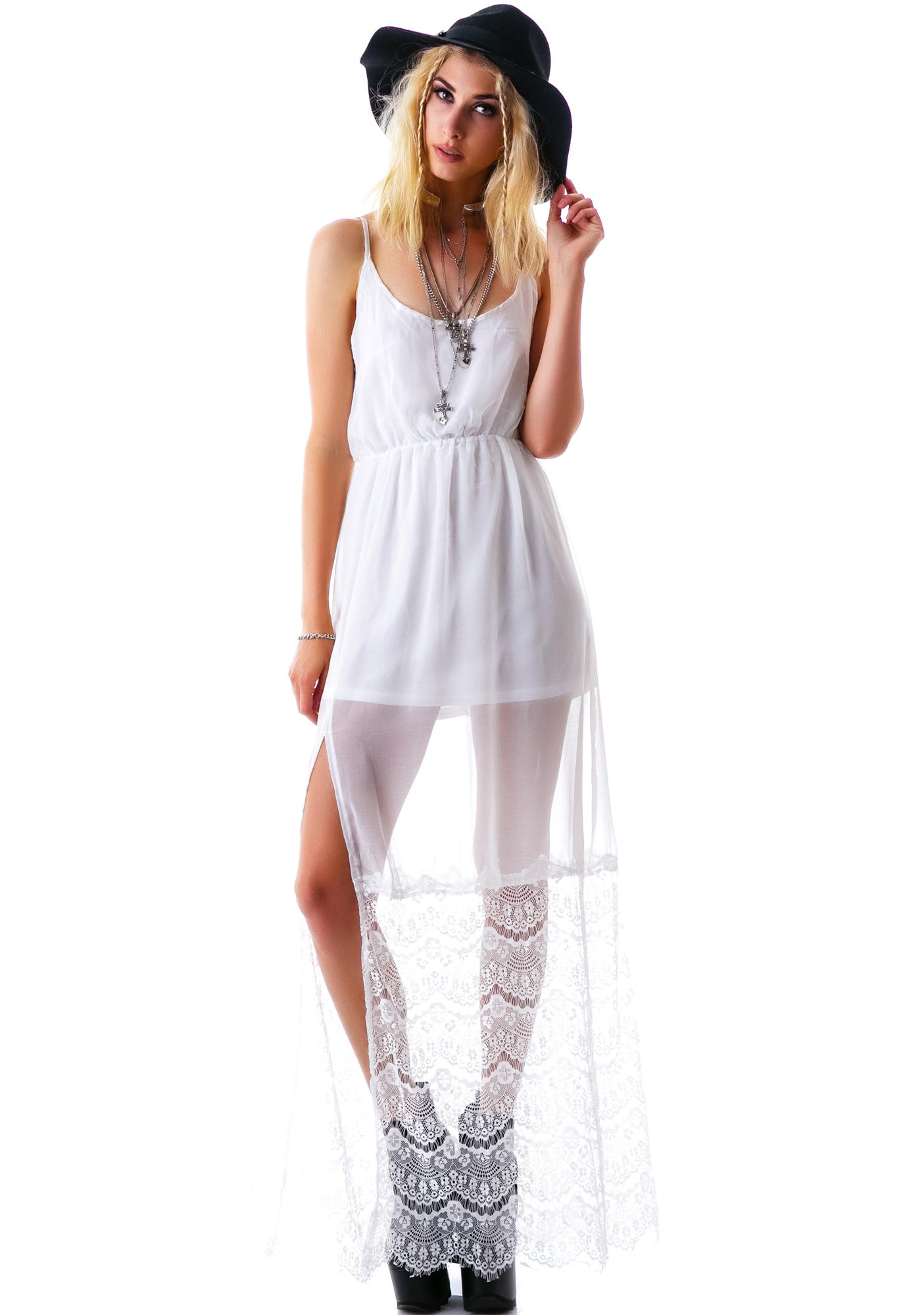 Lacey Tendencies Slip Dress