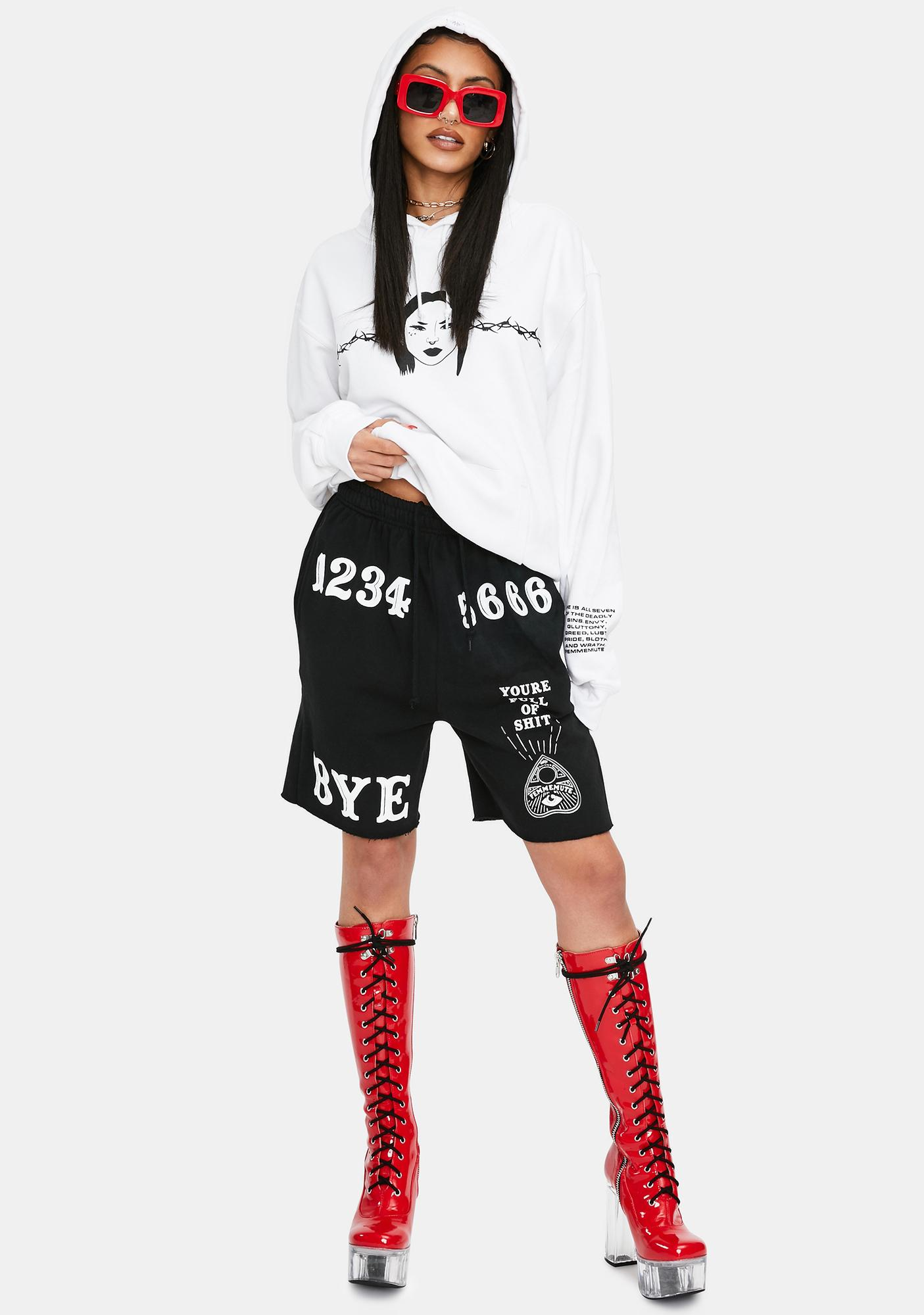 FEMMEMUTE Full Of It Shorts