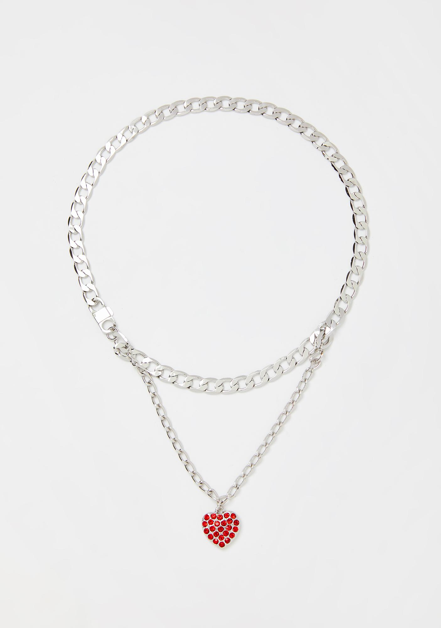Happy Heartbeat Chain Necklace