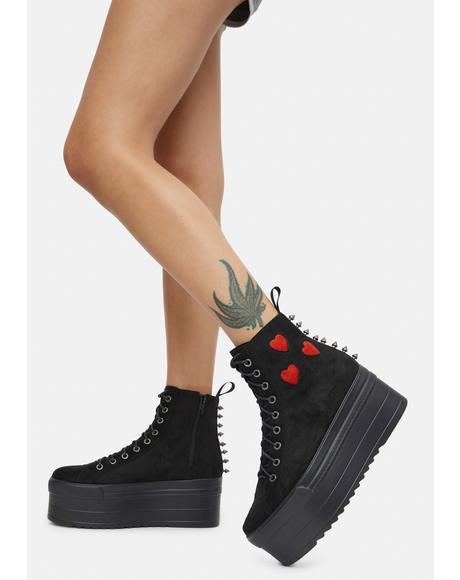Heartbreaker Chunky Platform Sneakers