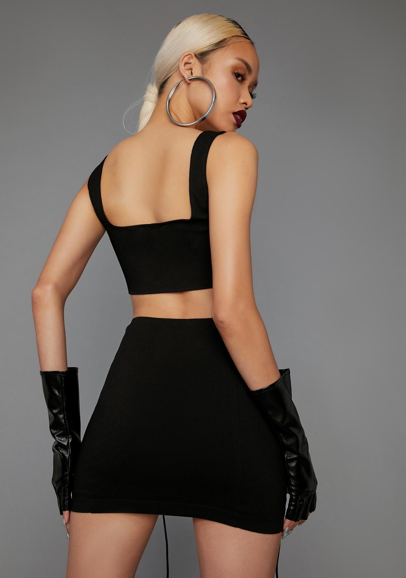 Poster Grl Hold That Pose Skirt Set