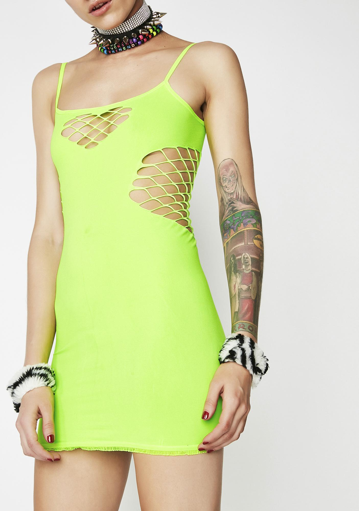 Toxic Lover Seamless Dress