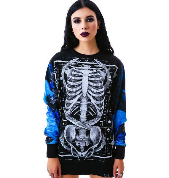 Killstar Ribcage Sweatshirt