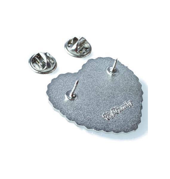 Eye Candy Designs FU Cake Enamel Pin