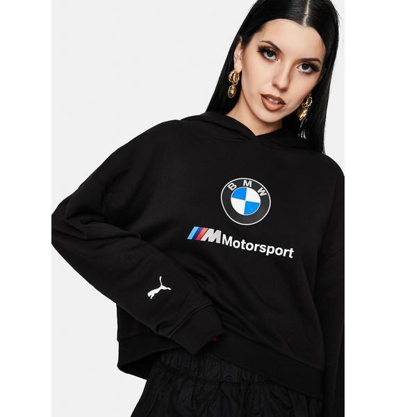 PUMA Black BMW M Motorsport Street Hoodie