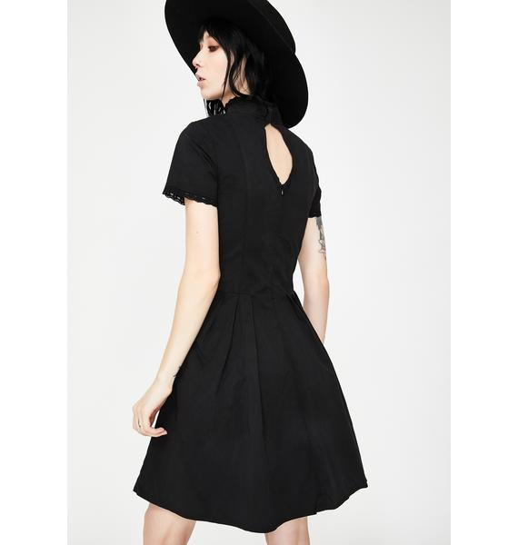 Dr. Faust Moon Crescent Mini Dress
