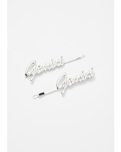 Guilty Gemini Hair Pins