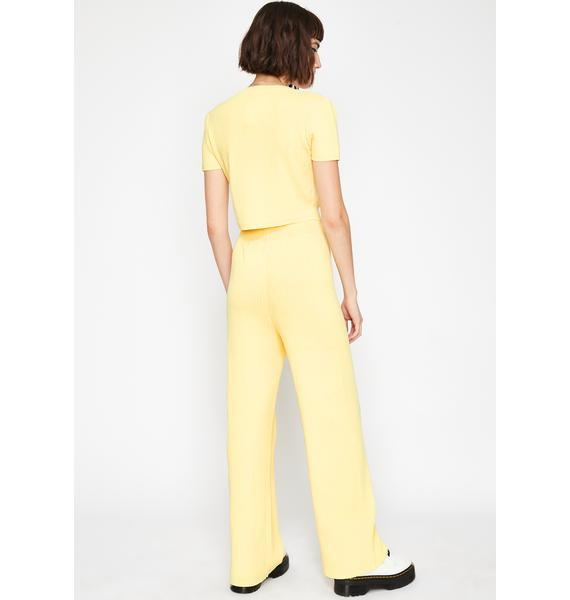 Sunny Lover Wide Leg Pants