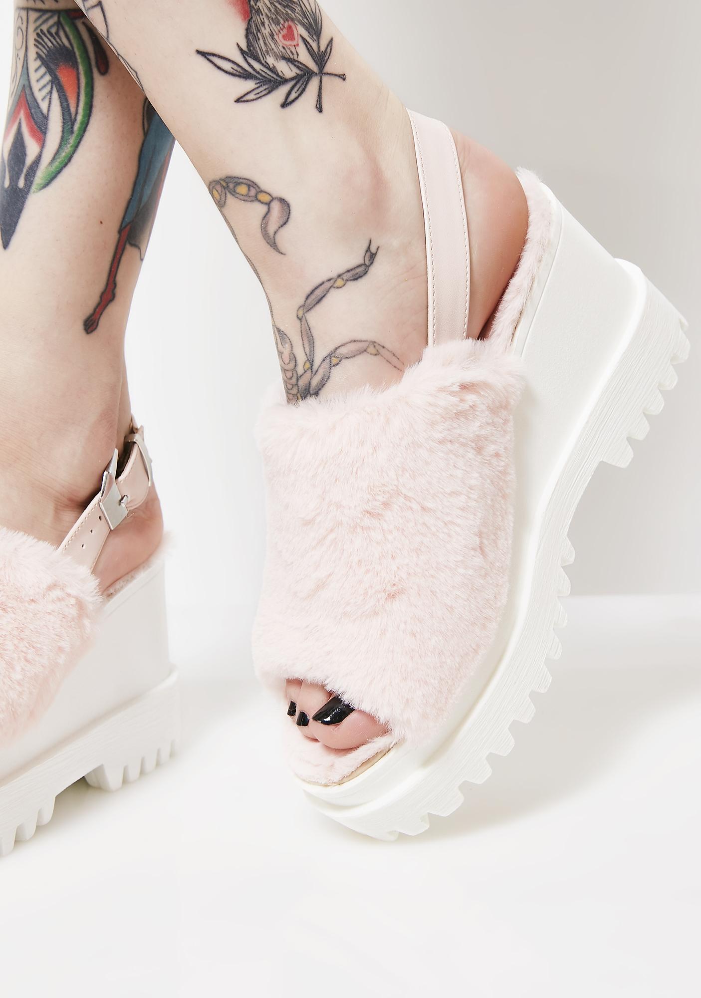 f857850c9ca ... Catchin  Feels Platform Sandals ...