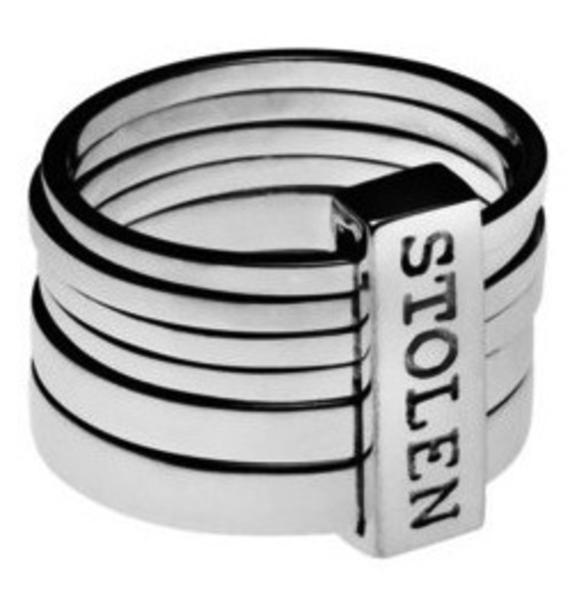 Stolen Girlfriends Club Six Piece Band Ring