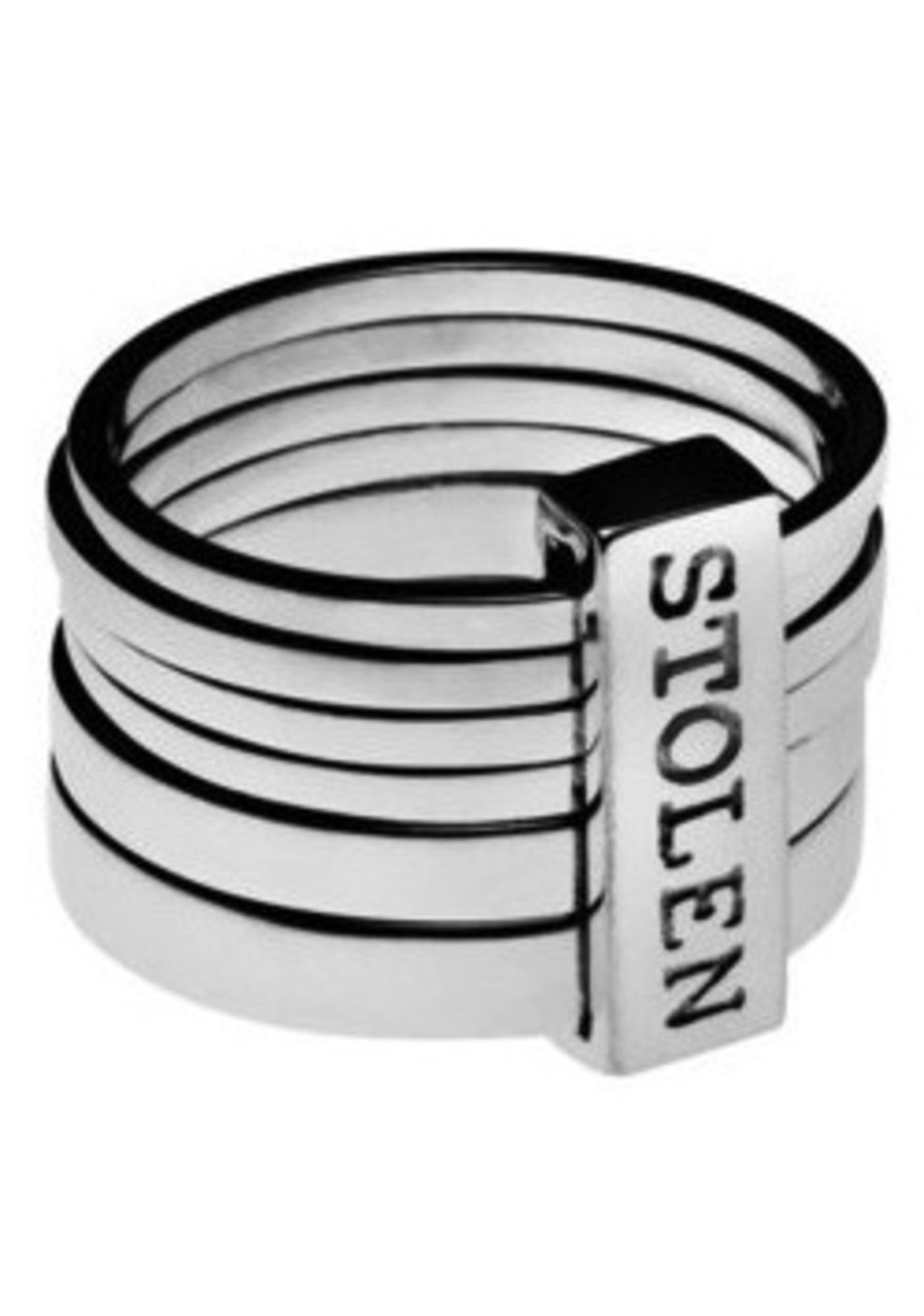 Stolen Girlfriends Club Six Piece Band Ring