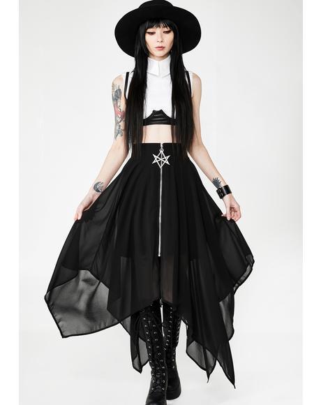 Sacred Sixx Maxi Skirt