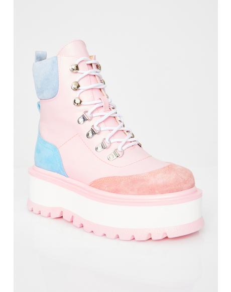 Baby Hydra Matrix Platform Boots