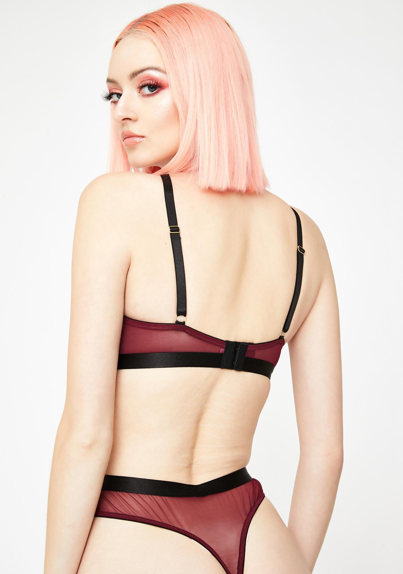 Regalia Hallie Cut-Out Lace Thong
