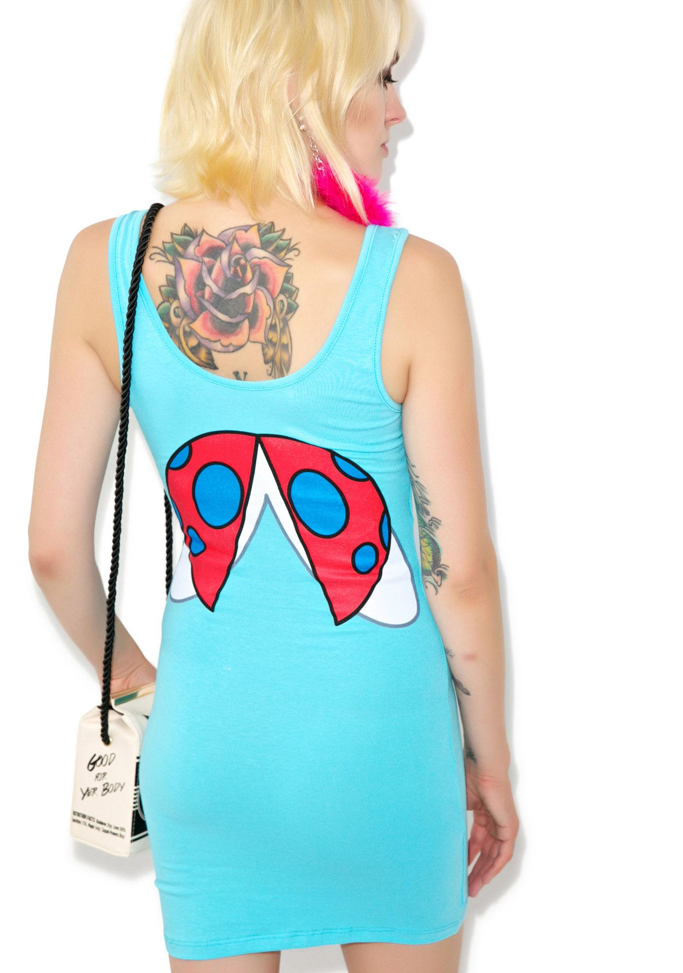 I Am Catbug Tunic Tank Dress