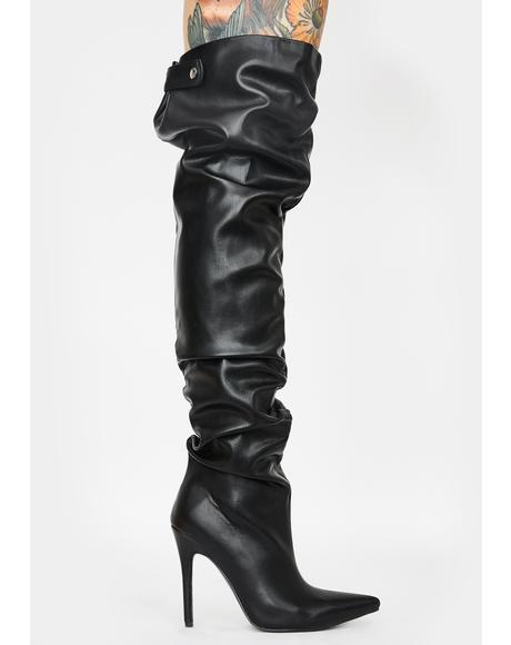 Impulse Over The Knee Boots
