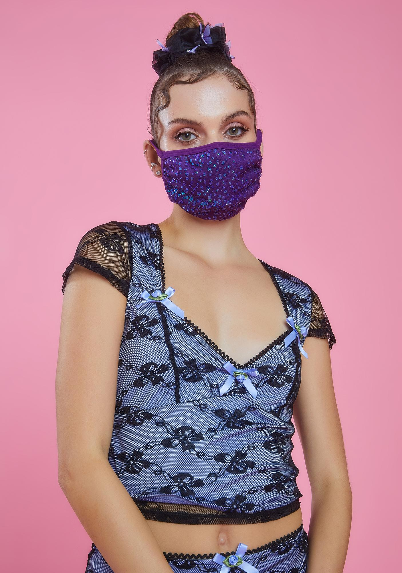 Sugar Thrillz Fairy Gleam Glitter Face Mask