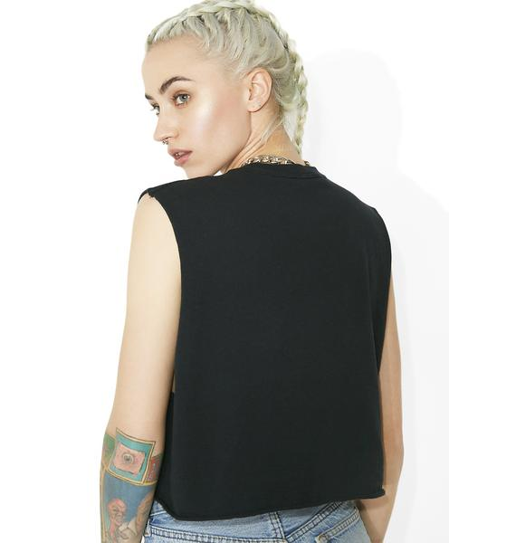 Shoot To Thrill Cropped Tee