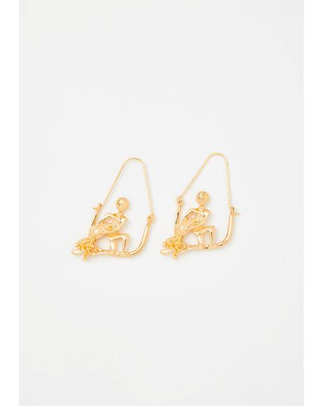 Accepting Aquarius Drop Earrings