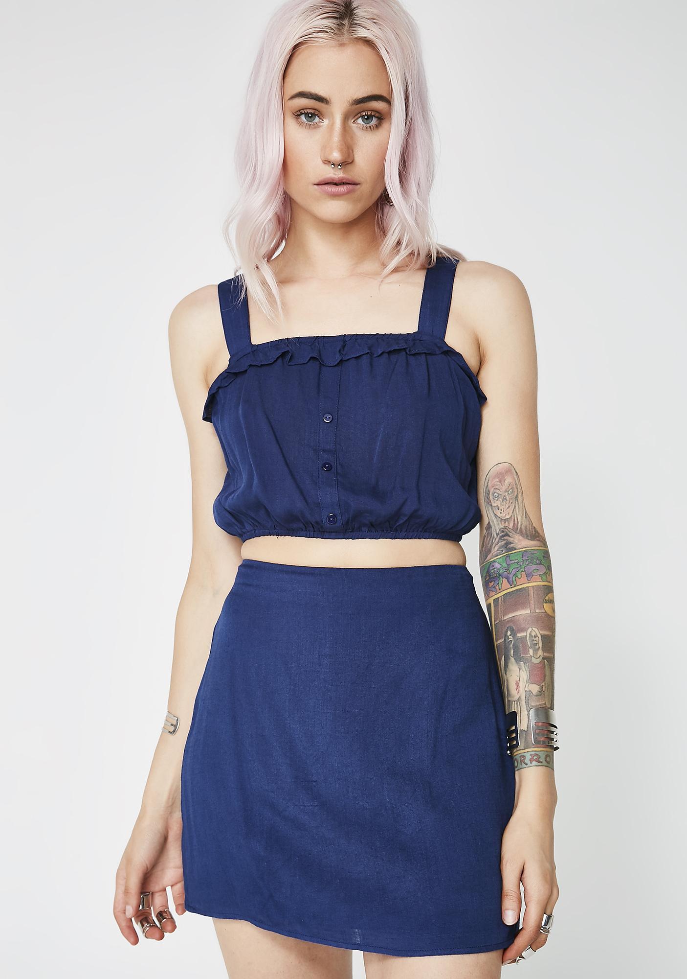 Itz All Good Mini Skirt