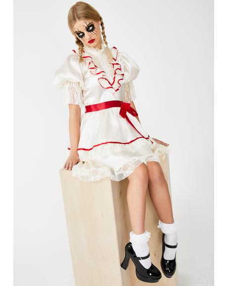 Haunted Doll Costume Set