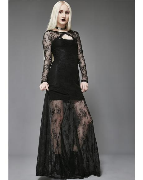 Crown Of Sympathy Lace Dress