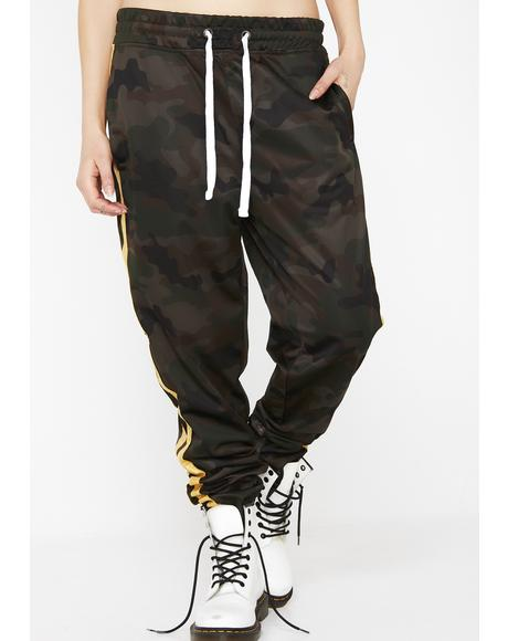 Camo Savage Remix Jogger Pants