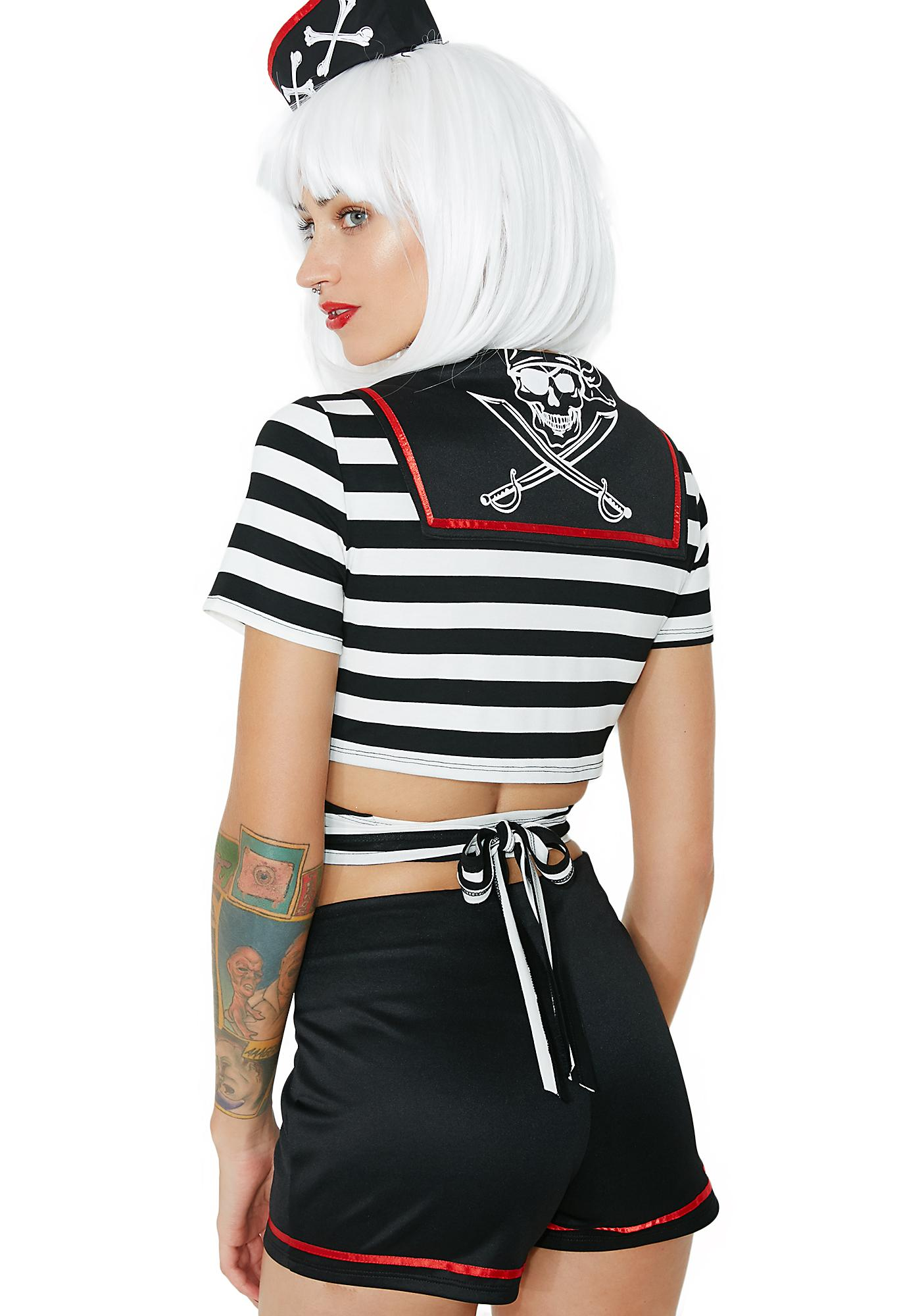 Dolls Kill Dead Sea Sailor Costume Set