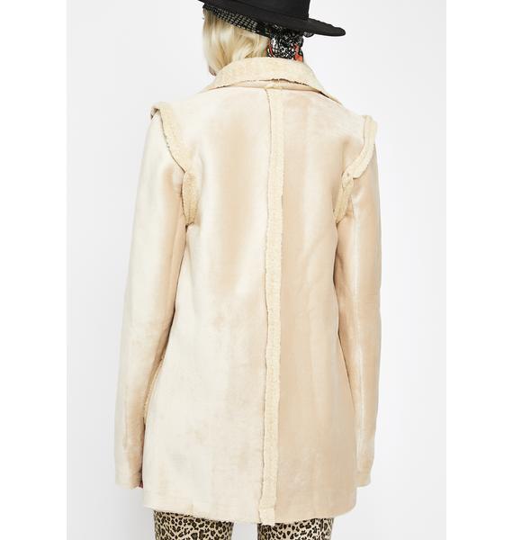 Spirit Weaver Sherpa Coat