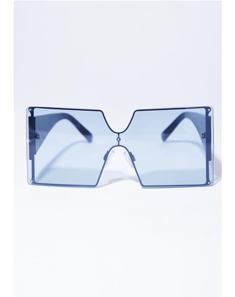 Blue C-Note Sunglasses