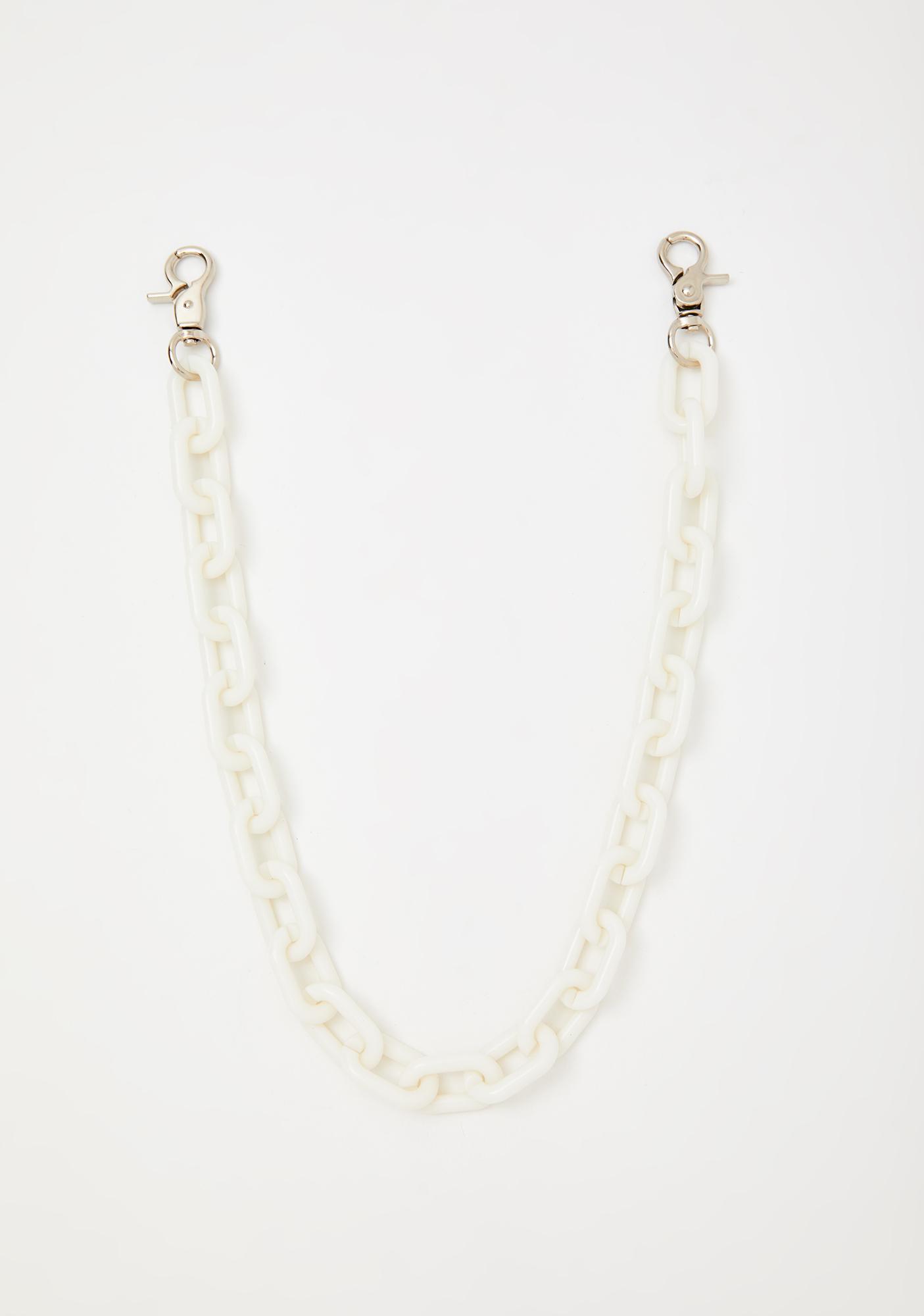 Blanc Coming Clean Chain Belt