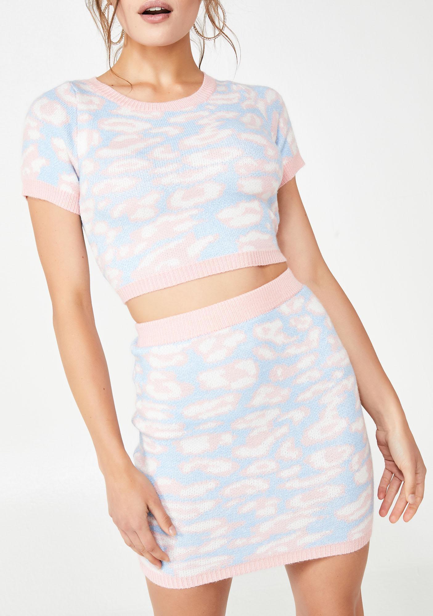 Catty Vibez Skirt Set