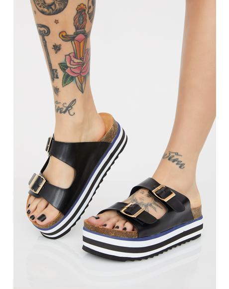 Venice Bish Platform Sandals