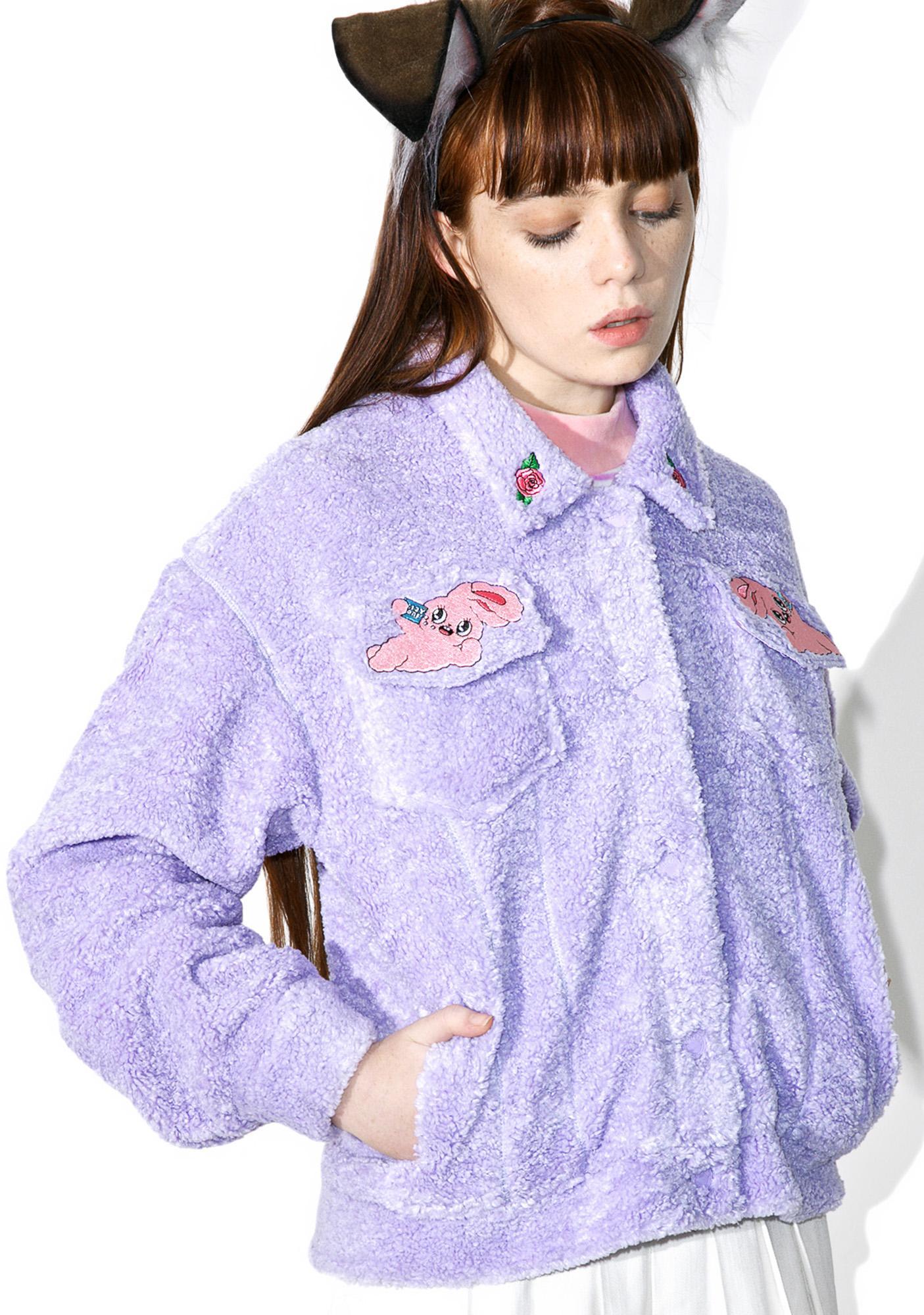 6a6b370cb9 ... Lazy Oaf Esther Loves Oaf Lazy Bunny Jacket