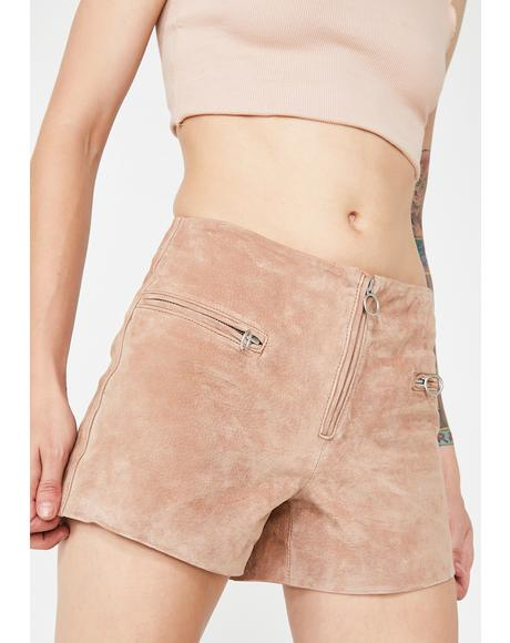 Hazelnut O-Ring Shorts