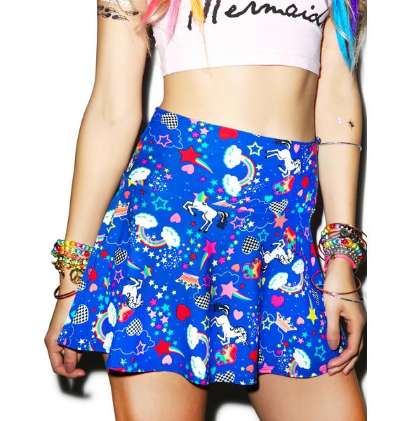 J Valentine Rainbow Unicorn Skirt