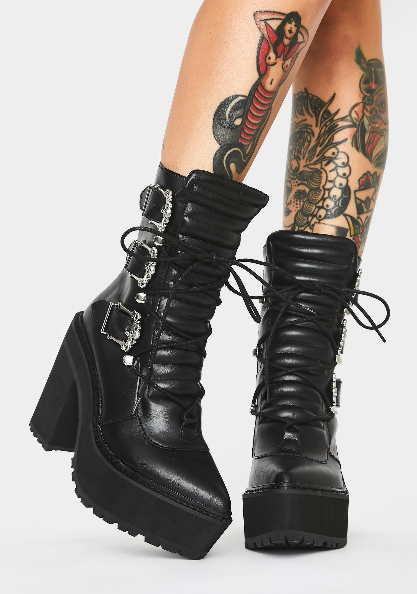 Killstar Lady Lestat Boots